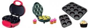 maquinas e formas para fazer cupcakes
